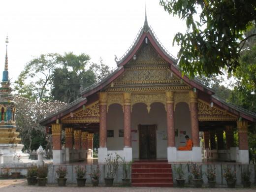 Wat Sop, Luang Prabang, Laos.