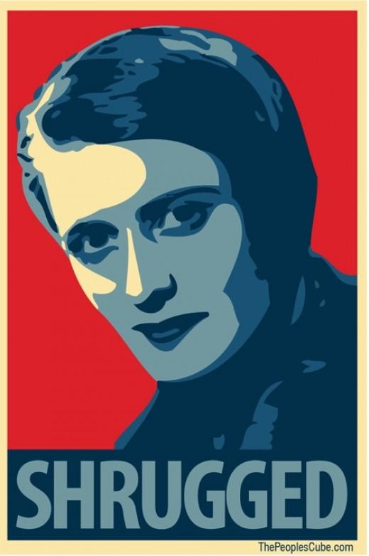 Author Ayn Rand