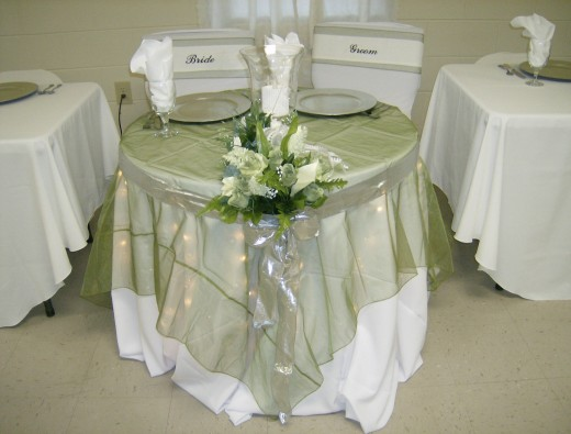 Starks Wedding Reception