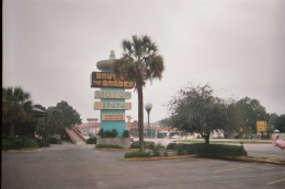 South of the Border Motor Inn sign, Dillon, South Carolina