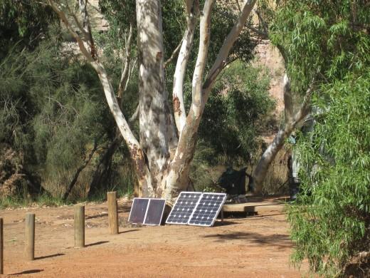 Solar Panels handy here