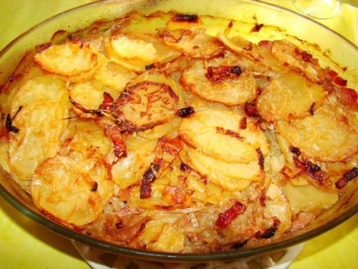 Pommes Boulangre