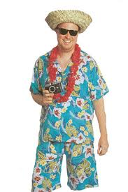 """THE FIRST THING YOU NEED TO DO, IS PUT ON SOME REAL """"VACATIONY FELING"""" CLOTHES!"""