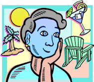 Blue Dreams that seem so far away, or she's having a facial?