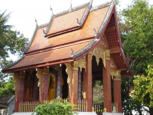 Wat Si Bun Heuang, Luang Prabang, Laos.