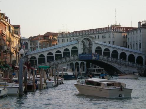 The Rialto Bridge, Venice © A Harrison