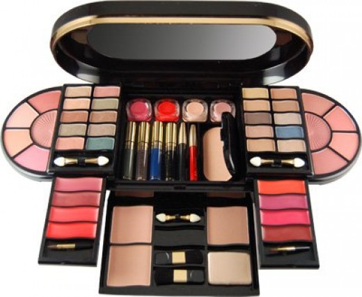 A posh makeup kit