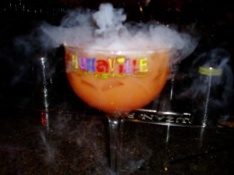 Fogging luau party drink