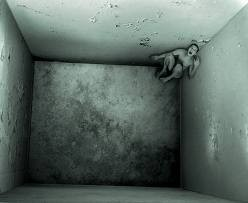 This is how claustrophobia can feel