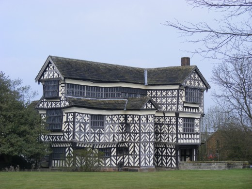This is an Elizabethan building, from the time of Shakespeare.