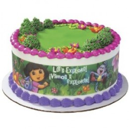 dora the explorer birthday cakes and party supplies