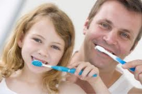 Showing the right brushing habits has an influence on offspring. The likelihood of mimicking these is increased tenfold.