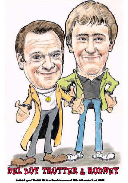Lead characters in Only Fools and Horses