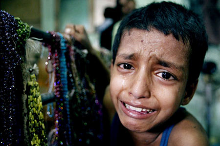 When they cry, we ignore them