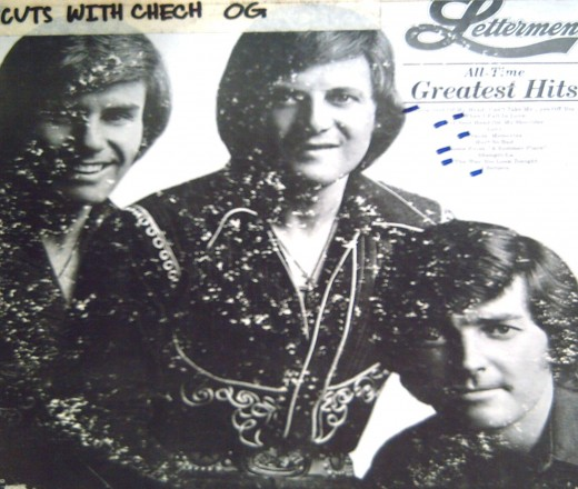 The Lettermen : All-Time Gtreatest Hits (1976) (Photo by Travel Man)