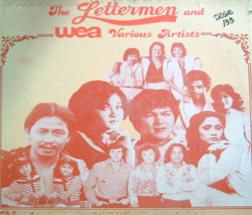The Lettermen & WEA Various Artists (1994) (Photo by Travel Man)