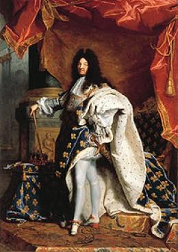 King Luis XIV