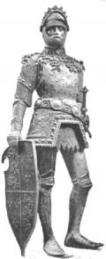 Statue of King Arthur