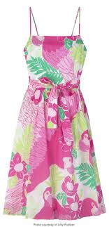 OKAY, MAYBE YOU DON'T WANT TO GO THAT EXTREME...A CUTE TROPICAL SUNDRESS WILL DO THE TRICK!