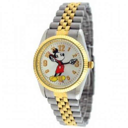 Disney #41544 Men's Classic Two Tone Mickey Mouse Watch