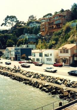 Sausalito shoreline street
