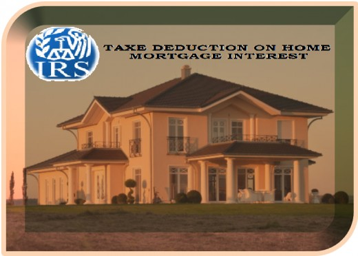 Interest paid on Mortgage for buying main or second home can be deducted