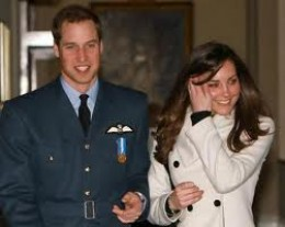 Prince William and soon to be Princess Kate