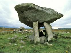 Standing Stone in Ireland.