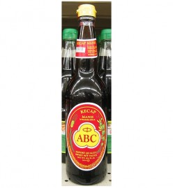 "Kecap Manis ABC Indonesian sweet Soy sauce - In Indonesia, soy sauce is known as ""kecap"" (also ketjap or kicap), which is a catch-all term for fermented sauces - Soy Sauce recipe ingredient and condiment"