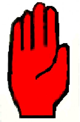 The Red Hand of Ulster should have been a shared symbol but its use by loyalist paramilitaries, including the 'Red Hand Commandos' means it is more usually seen as a Protestant symbol.