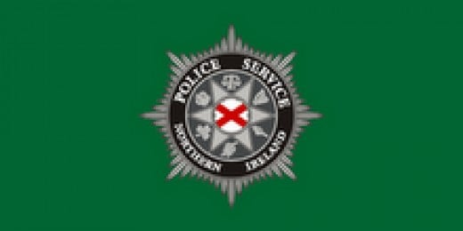 The badge for the new Police Service of Northern Ireland carefully includes six symbols to give a balanced representation of Northern Ireland.