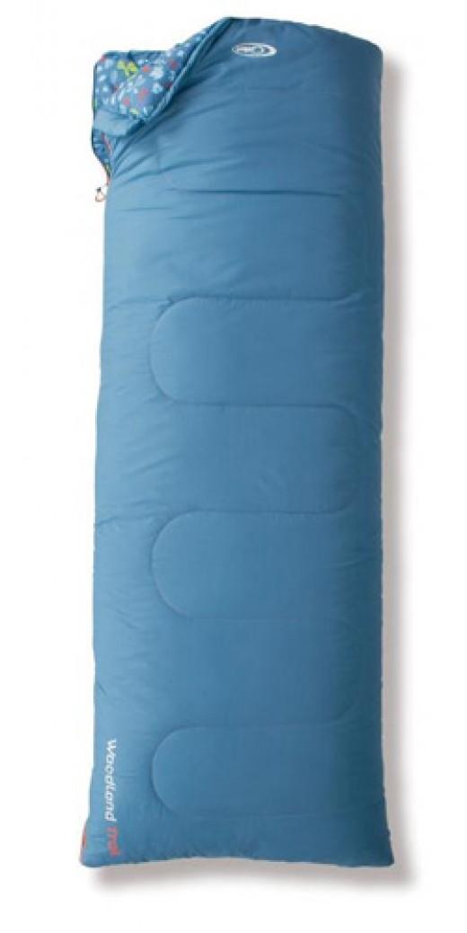 Caravan shaped sleeping bag
