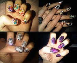 Some of Katy Perry's Nail Designs