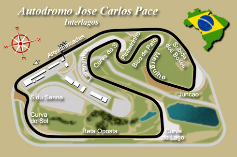 Interlagos - a truly great track.