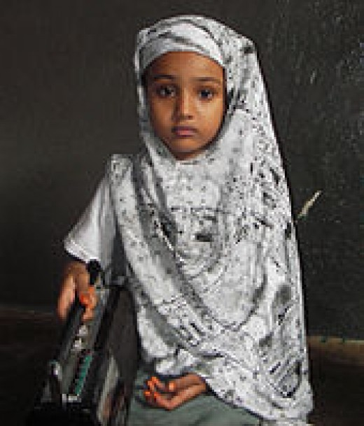 "Somali child needs somone to be a ""Giver."""