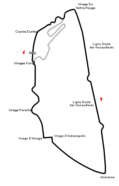 "The Circuit de la Sarthe. A ""true spectacle"""