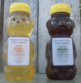 Two Great Honey Varieties from the Temecula Valley Honey Company.
