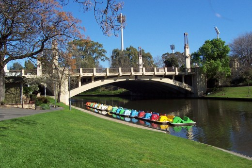Take a leisurely ride on the Torrens