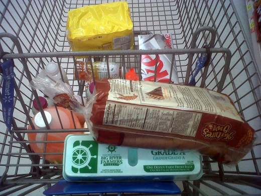 I went to pick up some milk tonight, which lead to about $30 in more stuff.  I hate going to the grocery store.