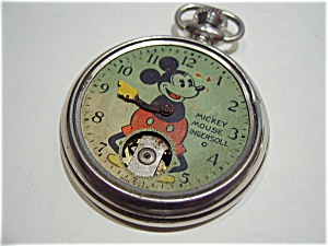 Ingersoll Mickey Mouse fob watch, 1933