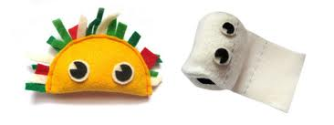 TACO AND TOILET PAPER TOY?