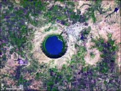 Lonar Satellite View
