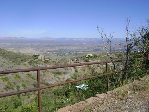 View of Verde Valley from Jerome