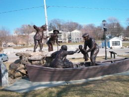 The Freedom Crossing Monument, Lewiston, New York
