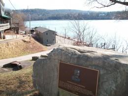 Murdoch's Landing, on the Niagara Riverfront, Lewiston, New York.