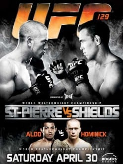 UFC 129 is on, who do you think will win? Georges St. Pierre or Jake Shields?