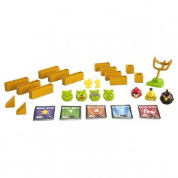 The Angry Birds Knock on Wood Board Game