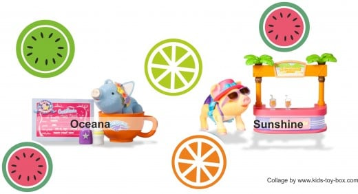 Teacup Piggies Summer Line