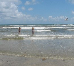Galveston Island Beach Vacation