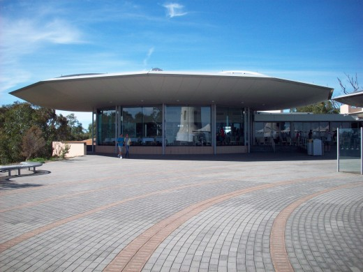Restaurant and visitor centre Mount Lofty